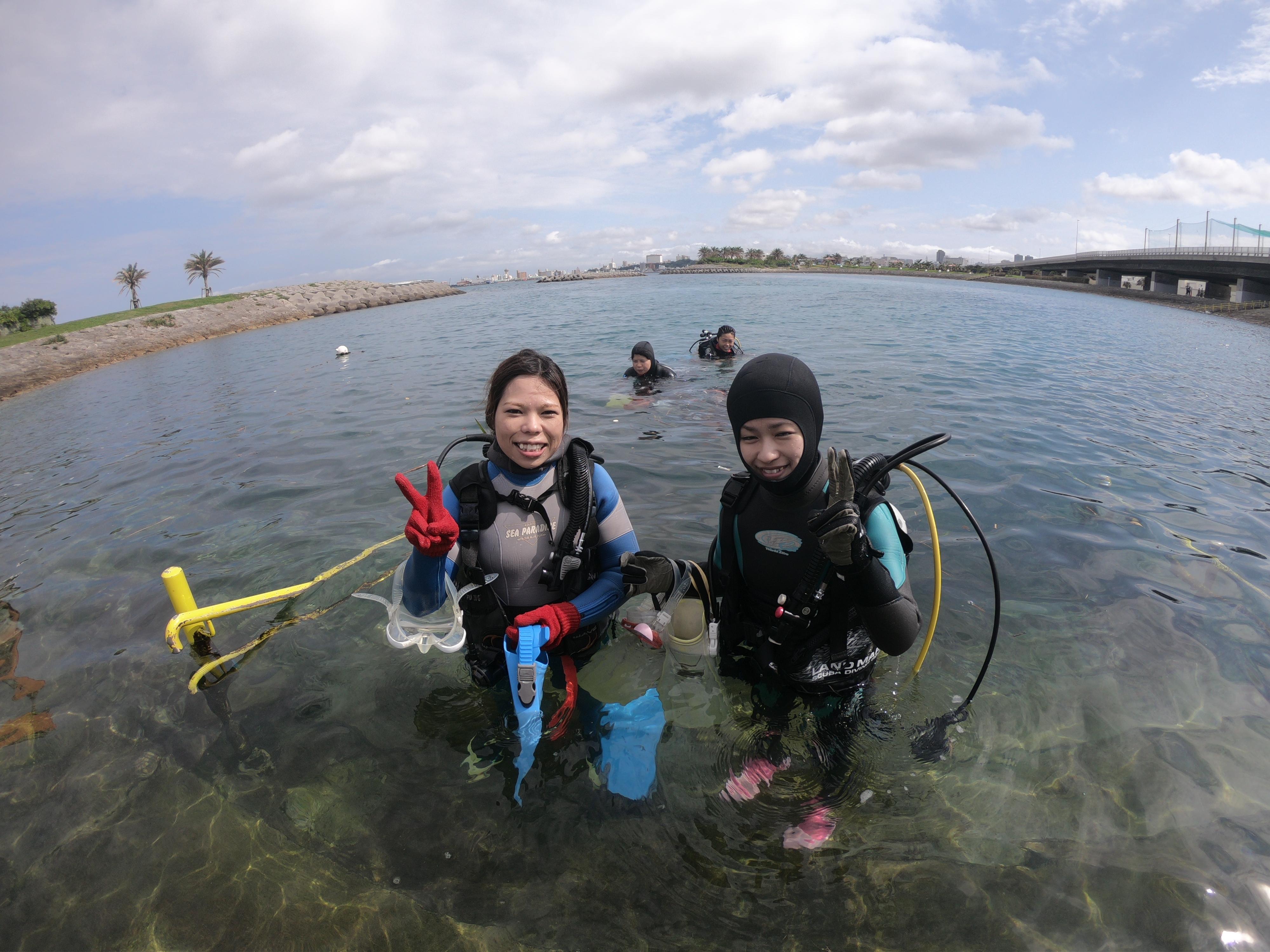夏日な沖縄